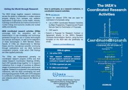 The IAEA's Coordinated Research Activities: Uniting the World through Research